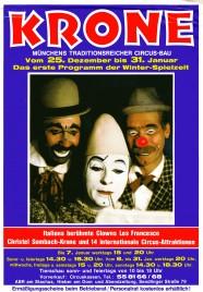 Circus Krone Circus Ticket - 1981