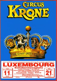 Circus Krone Circus Ticket - 1998