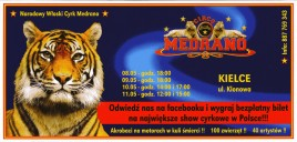 Circo Medrano Circus Ticket - 2014