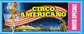 Circo Americano Circus Ticket - 1970