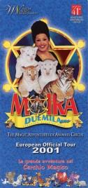 Circo Moira Orfei Circus Ticket - 2001