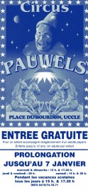 Circus Pauwels Circus Ticket - 0