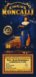 Circus Roncalli Circus Ticket - 2002