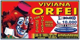 Circo Viviana Orfei Circus Ticket - 0