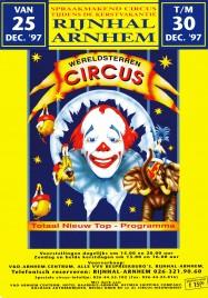 Wereldsterren Circus Circus Ticket - 1997