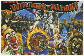 Circus Williams-Althoff Circus Ticket - 1978