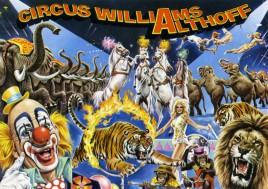 Circus Williams-Althoff Circus Ticket - 1979