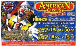 American Circus Circus Ticket - 2013