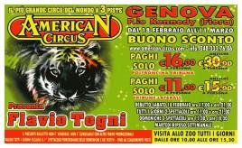 American Circus Circus Ticket - 2012