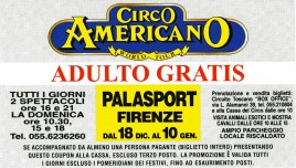 Circo Americano Circus Ticket - 1998