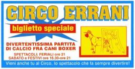 Circo Errani Circus Ticket - 0