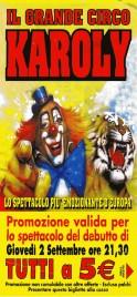 Circo Karoly Circus Ticket - 2004