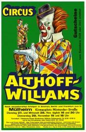 Circus Althoff-Williams Circus Ticket - 1979