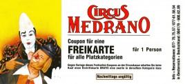 Circus Medrano Circus Ticket - 0