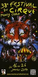 38e Festival International du Cirque de Monte-Carlo Circus Ticket - 2014