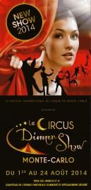 Le Circus Dinner Show - Monte Carlo Circus Ticket - 2014