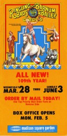 Ringling Bros. and Barnum & Bailey Circus Circus Ticket - 1979