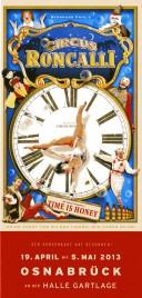 Circus Roncalli Circus Ticket - 2013