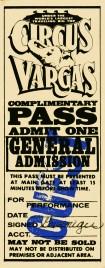 Circus Vargas Circus Ticket - 0