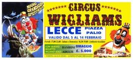Circus Wigliams Circus Ticket - 0