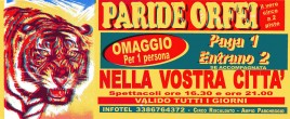 Circo Paride Orfei Circus Ticket - 0