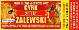 Cyrk Zalewski Circus Ticket - 2012