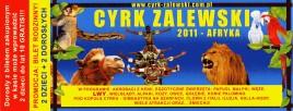 Cyrk Zalewski Circus Ticket - 2011