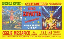 Circo Zavatta Haudibert Circus Ticket - 0