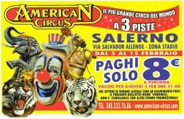 American Circus Circus Ticket - 2015