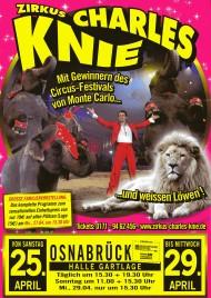 Zirkus Charles Knie Circus Ticket - 2015
