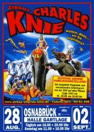 Zirkus Charles Knie Circus Ticket - 2012
