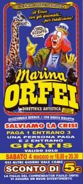 Circo Marina Orfei Circus Ticket - 2013