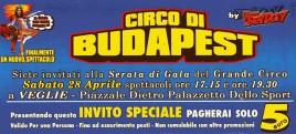 Circo di Budapest Circus Ticket - 2012