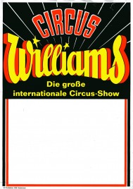 Circus Williams Circus Ticket - 1968