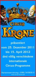 Circus Krone Circus Ticket - 2011
