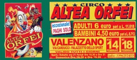 Circo Altea Orfei Circus Ticket - 0