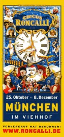 Circus Roncalli - Time Is Honey Circus Ticket - 2013
