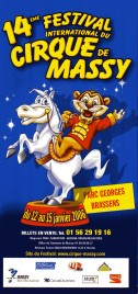 14 Festival International du Cirque de Massy Circus Ticket - 2006