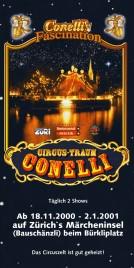 Circus Conelli Circus Ticket - 2000