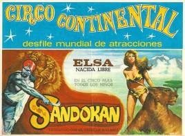 Circo Continental Circus Ticket - 1978