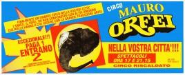 Circo Mauro Orfei Circus Ticket - 0