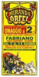 Circo Miranda Orfei Circus Ticket - 0