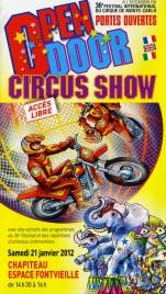Open Door Circus Show - 36e Festival du Cirque Circus Ticket - 2012