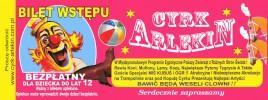 Cyrk Arlekin Circus Ticket - 0