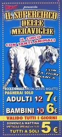 Circo Fantasy Circus Ticket - 0