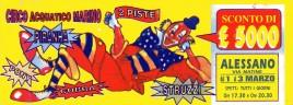 Circo Acquatico Marino Circus Ticket - 0