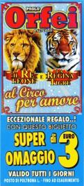 Circo Paolo Orfei Circus Ticket - 0