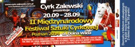 Cyrk Zalewski Circus Ticket - 2014