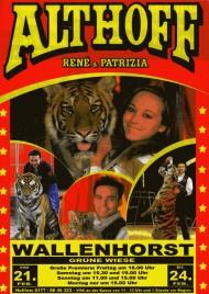 Circus Althoff René & Patrizia Circus Ticket - 2014