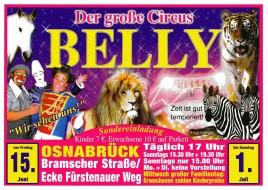 Circus Belly Circus Ticket - 2012